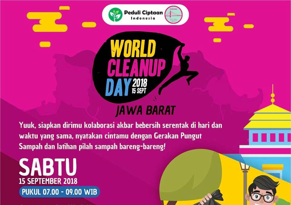 World-Clean-up-Day-Jawa-Barat-2018